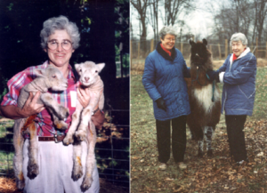 Shepherd's Corner founders: Sisters Jane Belanger (left), Camilla Smith and Loretta Forquer (right).